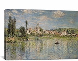 Vetheuil in Summer1880 By Claude Monet Canvas Print #1039