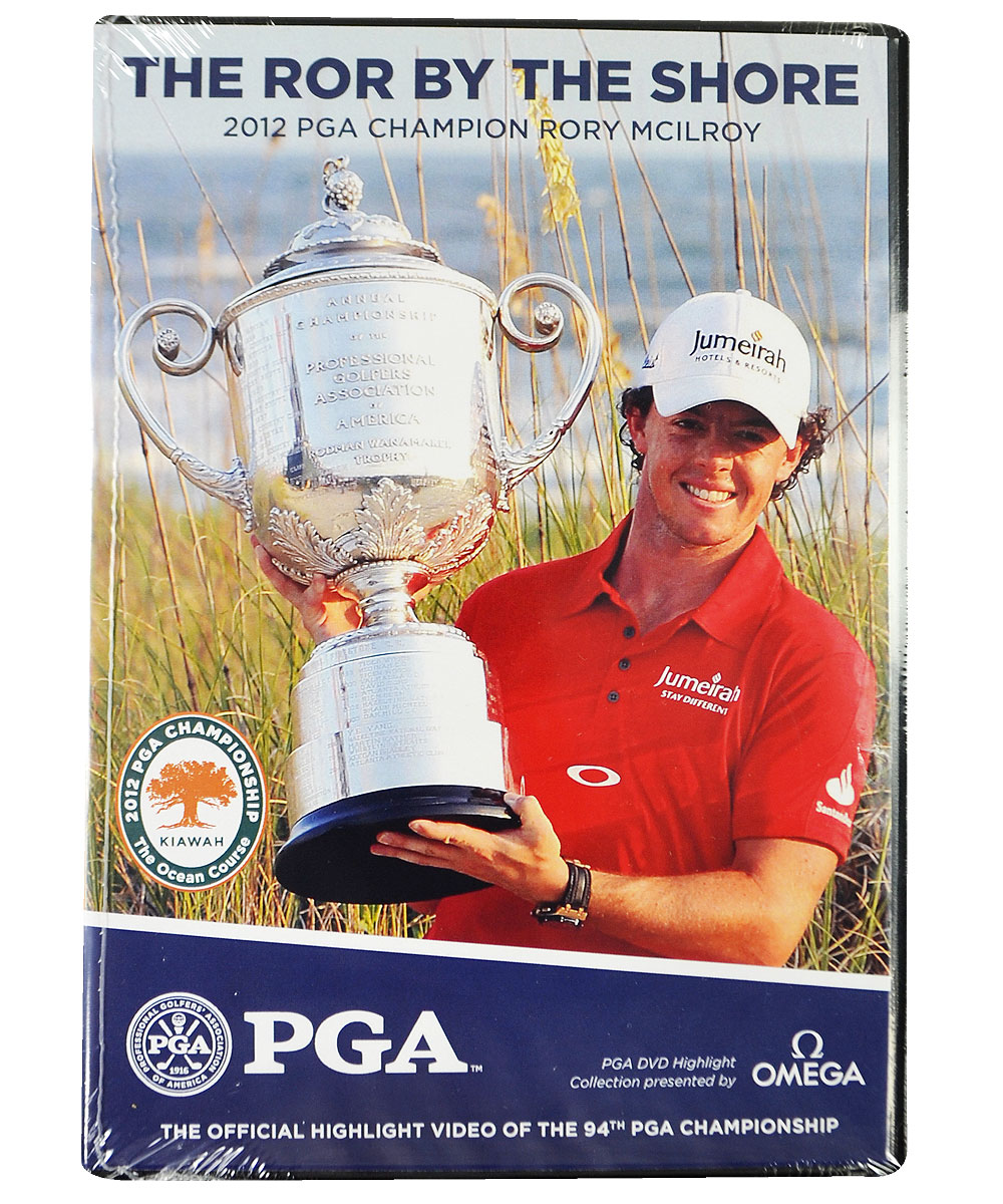 2012 PGA Championship: The Ror By The Shore DVD - Golf DVDs
