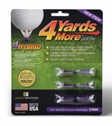 4 Yards More- 4Hybrid Golf Tees 6-Pack