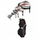 Adams Golf- Idea A12 OS Complete Set With Bag Graph/Steel