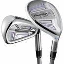 Adams Golf- Ladies Idea Super S Hybrid Irons #4/5, 6-PW/SW Graphite
