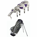Adams Golf- Ladies Speedline 15-Piece Complete Set With Bag Graphite