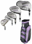 Adams Golf- Ladies Super S Integrated Complete Set With Bag Graphite