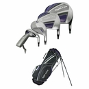 Adams Golf- Ladies Tight Lies TL1311 Complete Set With Bag Graphite