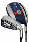Adams Golf- LH Blue Combo Irons Graph/Steel (Left Handed)