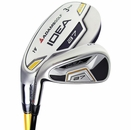 Adams Golf- LH Idea A7 3-PW Hybrid Irons Graphite/Steel (Left Handed)