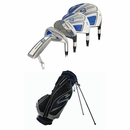 Adams Golf- Speedline Complete Set With Bag Graph/Steel