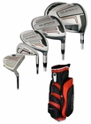 Adams Golf- Super S Integrated Complete Set With Bag Graph/Steel