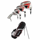 Adams Golf- Tight Lies 1212  Complete Set With Bag Graphite/Steel