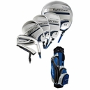 Adams Golf- Tight Lies Complete Set With Bag Graphite
