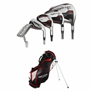 Adams Golf- Tight Lies Plus 1312 Complete Set With Bag Graphite