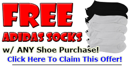 FREE SOCKS WITH PURCHASE!!