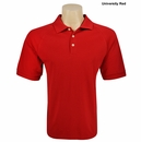 Adidas- ClimaLite Mens Stretch Pique Short Sleeve Polo