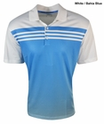 Adidas Golf 2015 Climacool 3-Stripes Gradient Polo