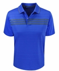 Adidas Golf- Boys Puremotion 3-Stripes Chest Polo