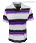 Adidas Golf- Boys Puremotion Merch Stripe Polo