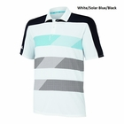 Adidas Golf- Climachill Stripe Block Polo