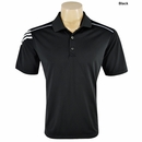 Adidas Golf ClimaCool 3-Stripes Polo
