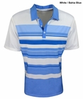 Adidas Golf- ClimaCool Sport Performance Stripe Polo