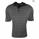 Adidas Golf Climalite 2-Color Stripe Jersey Polo