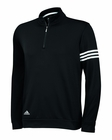 Adidas Golf Climalite 3-Stripe French Terry Pullover
