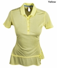 Adidas Golf- Ladies Climalite Advance Pique Polo Shirt