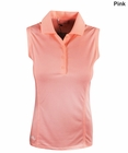 Adidas Golf- Ladies Essentials Sleeveless Solid Polo