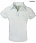 Adidas Golf- Girls Puremotion Piped Polo