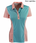 Adidas Golf- Ladies Climacool Two Tone Flare Polo