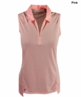 Adidas Golf- Ladies Climacool Ventilated Sleeveless Polo