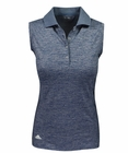Adidas Golf- Ladies Climate Sleeveless Solid Polo
