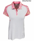 Adidas Golf- Ladies Floral Polo
