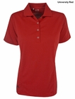 Adidas Golf- Ladies Puremotion Solid Jersey Polo