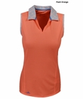 Adidas Golf- Ladies Tour Accordion Sleeveless Polo