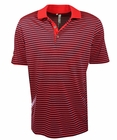 Adidas Golf- Performance 3-Color Stripe Polo