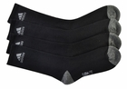 Adidas Golf- Performance Crew Sock Black 2 Pack