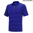 Adidas Golf Puremotion 2-Color Stripe Jersey Polo
