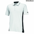 Adidas Golf Puremotion Colorblock 3-Stripes Sleeve Polo