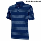 Adidas Golf Puremotion Heather 3-Stripes Polo