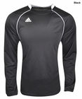 Adidas- Interlock Knit Long Sleeve Crew Neck