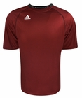 Adidas- Interlock Knit Short Sleeve Crew Neck