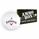 Ammo Box- Callaway Golf- HX Diablo Mint Used/Recycled Golf Balls *3-Dozen*