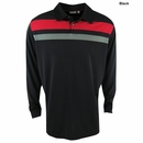 Ashworth Golf-  EZ-Sof Long Sleeve Engineer Stripe Polo