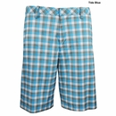 Ashworth Golf - Flat Front Plaid Shorts