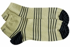 Ashworth Golf- Low Cut Pima Striped Sock