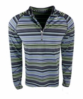Asics- Mens Thermostripe 1/2 Zip Pullover