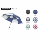 Bag Boy Golf- 62 Inch Wind Vent Umbrella