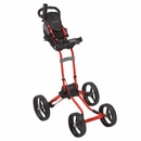 Bag Boy Golf- Quad Four Wheel Push Cart
