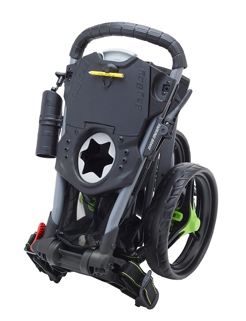 Bag Boy Golf Tri Swivel Push Cart on bag boy express dlx