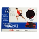 Bally - Soft Grip Weights 3 lbs each, 6 lb Pair